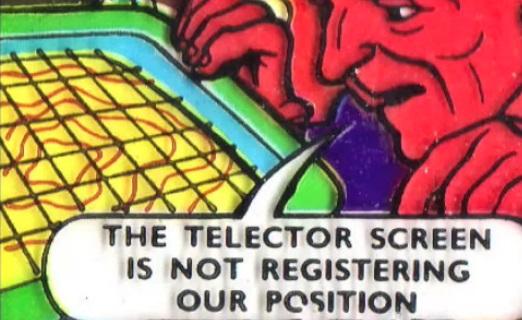 Telector screen