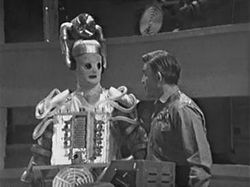 Cyberman invasion of Earth (The Tenth Planet)