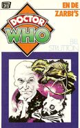 DW and the Zarbi Dutch cover