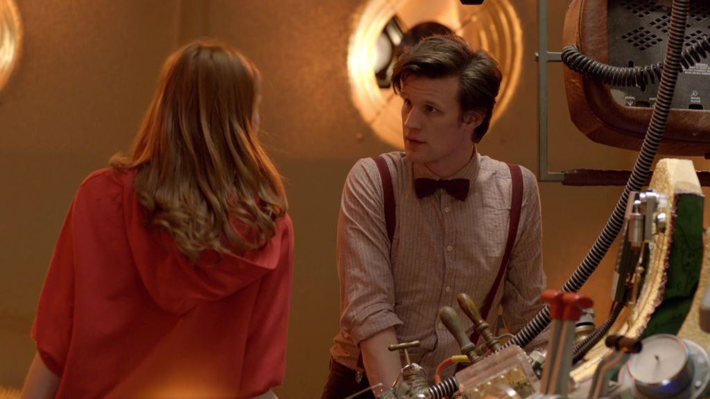 Meanwhile in the TARDIS (home video)