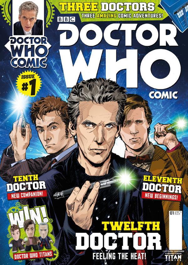 Doctor Who Comic (2015)