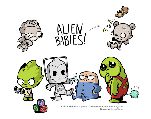 Alien Babies!