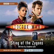 Sting of the Zygons audiobook