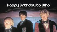 Happy Birthday to Who