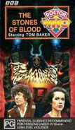 The Stones of Blood VHS Australian cover