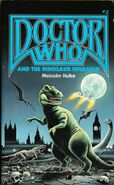 Doctor Who and the Dinosaur Invasion Pinnacle edition blue logo