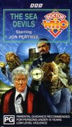 The Sea Devils VHS Australian cover