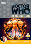 The Five Doctors new cover