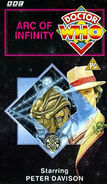 Arc of Infinity VHS UK cover