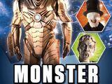 Monster Sticker Activity