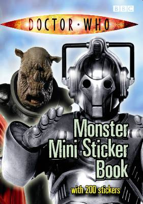 Mini-Monster Sticker Book
