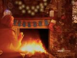 Festive Thirteenth Doctor Yule Log (webcast)