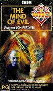 The Mind of Evil VHS Australian cover