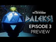 Episode 3 Preview - DALEKS! - Doctor Who