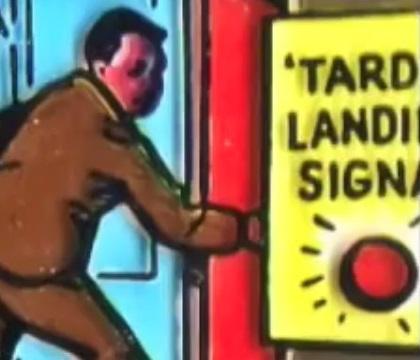 TARDIS landing signal