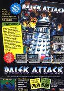 Dalek Attack advert