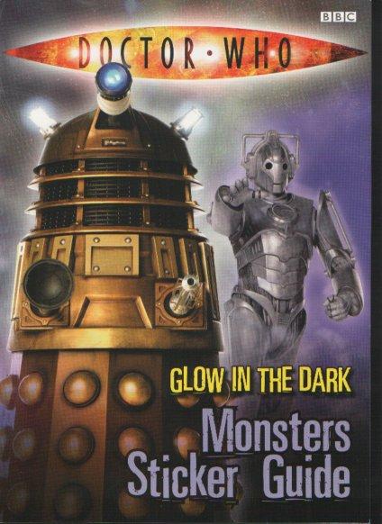 Glow in the Dark Monster Sticker Guide