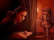Innocet reads her Journal 1