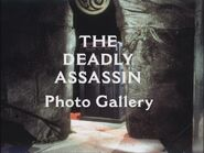 The Deadly Assassin Photo Gallery