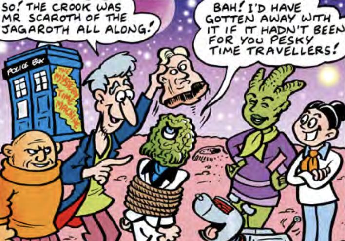 The Daft Dimension (DWM 489 comic story)