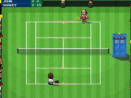 TARDIS Tennis (video game)