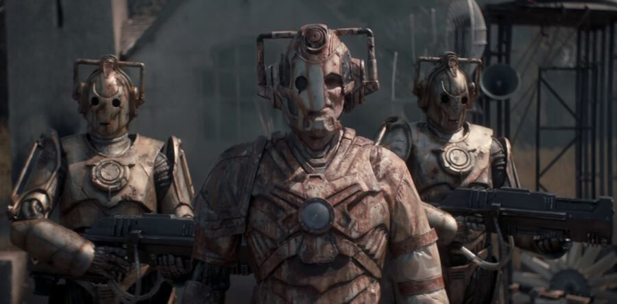 Ashad and his two Cybermen at planet 1.jpg