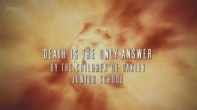 Death Is the Only Answer title card.jpg