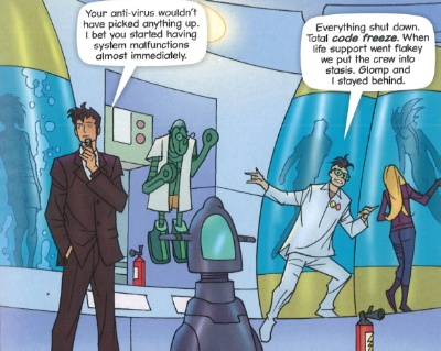 Code Freeze (comic story)