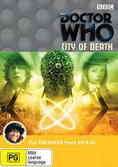 City of Death DVD Australian cover