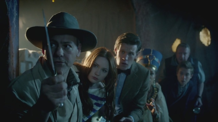 The Eleventh Doctor's gang