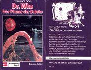 Germany Der Planet der Daleks frontandback