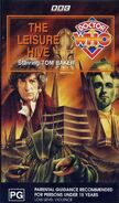 The Leisure Hive VHS Australian cover