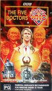 The Five Doctors 1990 VHS Au
