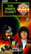 The Pirate Planet VHS UK cover