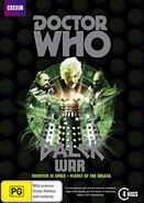Dalek War DVD box set Australian cover