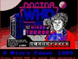 Doctor Who and the Mines of Terror (video game)