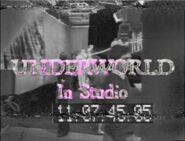 Underworld In Studio
