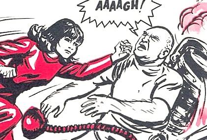 Sara Kingdom: Space Security Agent (comic story)
