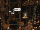 The Professor, the Queen and the Bookshop (comic story)