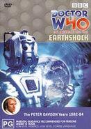 Earthshock DVD Australian cover