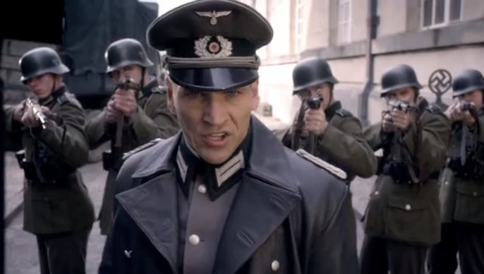 German officer (Let's Kill Hitler)