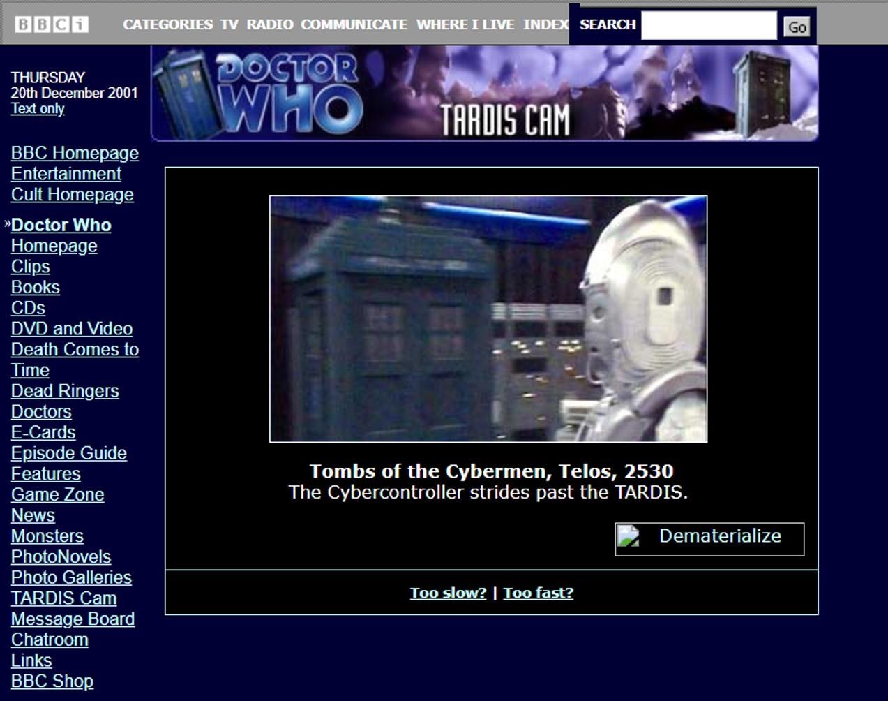 TARDIS Cam (series)