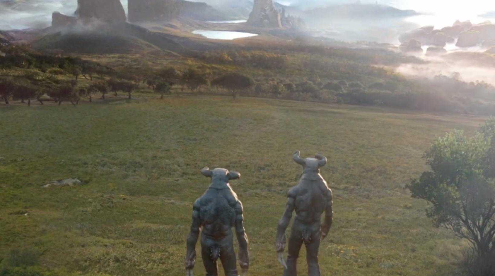 Grass planet (Time Heist)