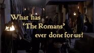 What has The Romans ever done for us