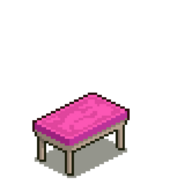 Pink Coffee Table