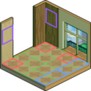 HOUSE Beranda Room3 Layout