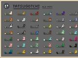 List of Tatsugotchi