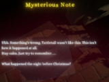 Mysterious Notes
