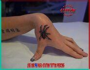 Tattoo,spider,photo,image,realistic,best,studio,body art,station,cyprus,eu
