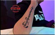 Bass tattoo design,tattoo studio,station